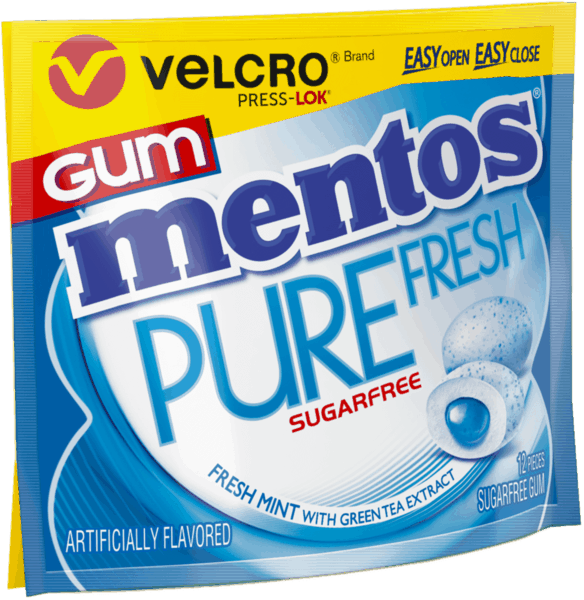 $0.25 for Mentos Pure Fresh Gum Wallet Pack (expiring on Saturday, 06/02/2018). Offer available at Walmart.