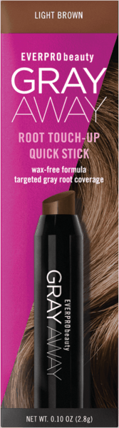 $2.50 for EVERPRO® GRAY AWAY® Quick Stick Root Touch Up (expiring on Monday, 09/02/2019). Offer available at multiple stores.