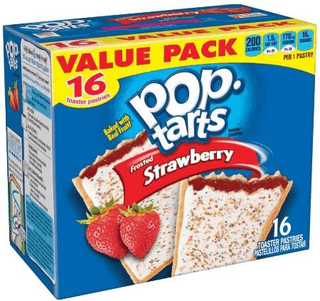 $0.25 for Pop-Tarts® (expiring on Sunday, 06/02/2019). Offer available at Walmart.