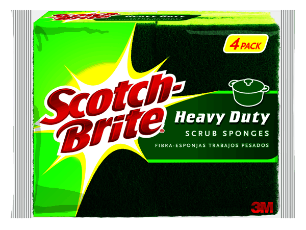 $1.00 for Scotch-Brite® Scrub Sponges. Offer available at Meijer, Dollar General.