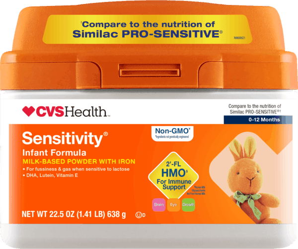 $6.00 for CVS Health™ Sensitivity® Infant Formula (expiring on Tuesday, 07/02/2019). Offer available at CVS Pharmacy.
