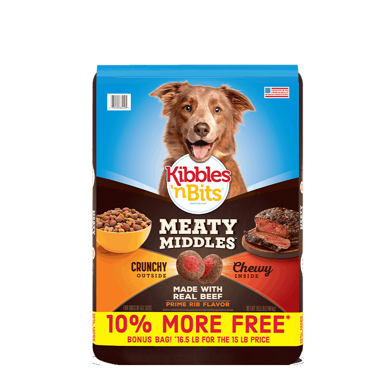 $1.00 for Kibbles 'n Bits Dog Food. Offer available at multiple stores.