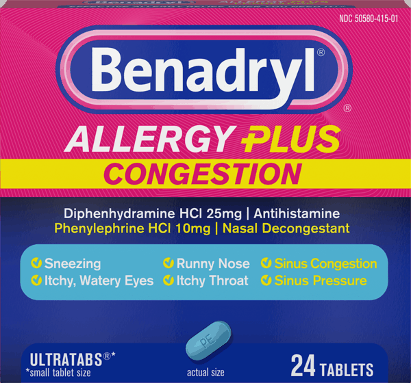 $0.80 for Benadryl® (expiring on Sunday, 12/02/2018). Offer available at Walmart.