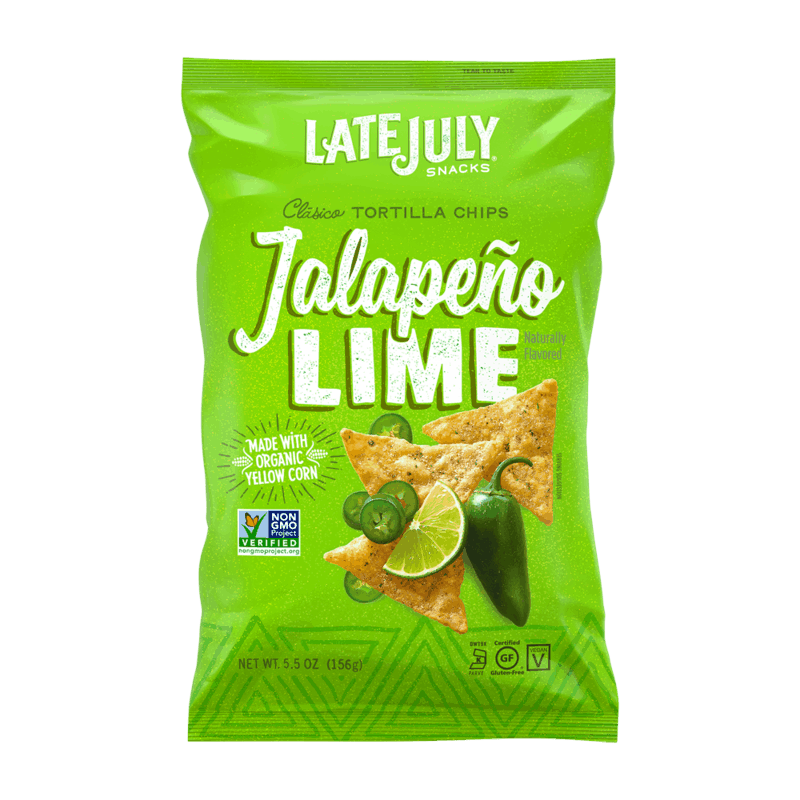 $0.75 for Late July Multigrain and Classico Tortilla Chips (expiring on Monday, 11/23/2020). Offer available at multiple stores.