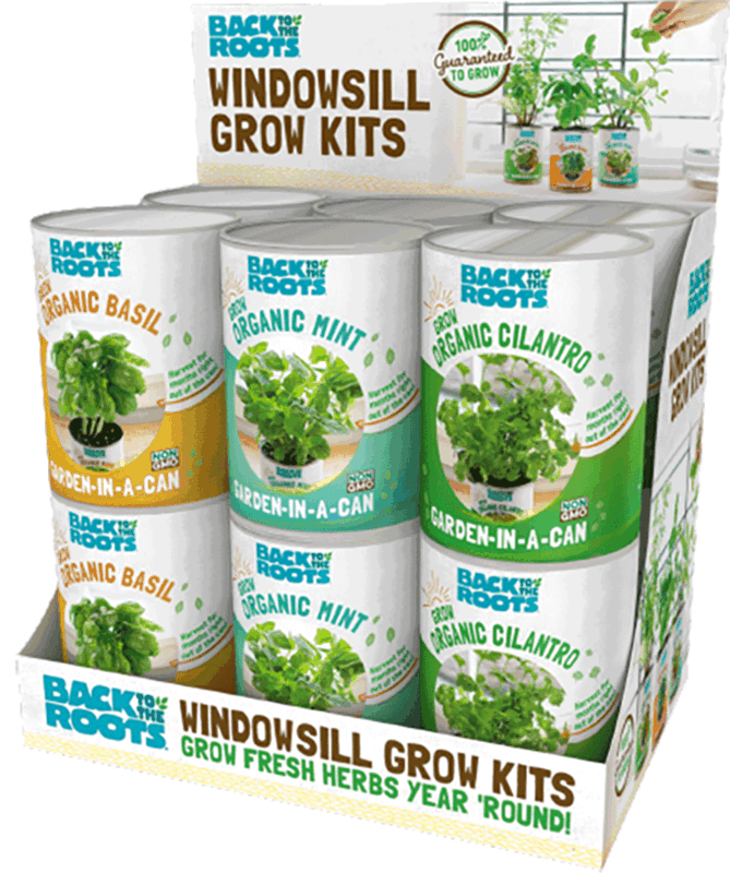 $4.00 for Back to the Roots® Windowsill Grow Kits. Offer available at Target.