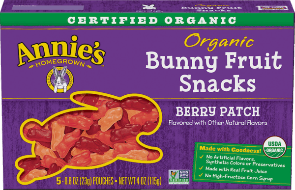 $0.50 for Annie's™ Bunny Fruit Snacks (expiring on Monday, 12/31/2018). Offer available at multiple stores.
