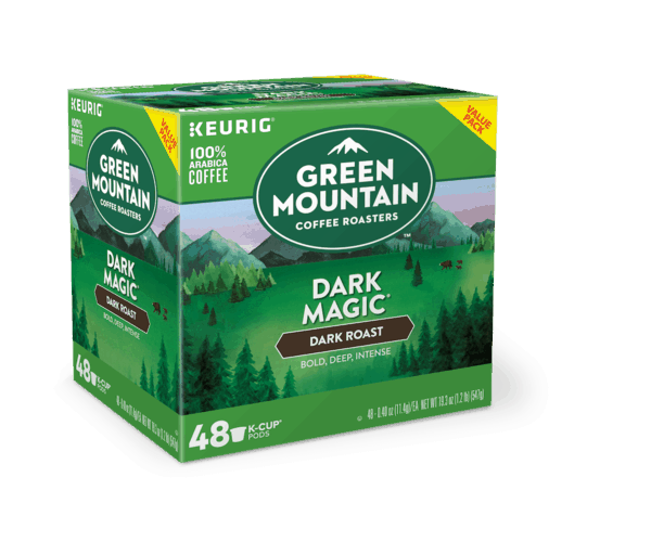 $2.00 for Green Mountain Coffee Roasters® Dark Magic® Coffee K-Cup® pods (expiring on Sunday, 09/30/2018). Offer available at Walmart.
