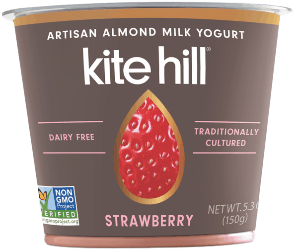 $0.50 for Kite Hill European and Greek-Style Almond Milk Yogurt (expiring on Sunday, 06/02/2019). Offer available at multiple stores.