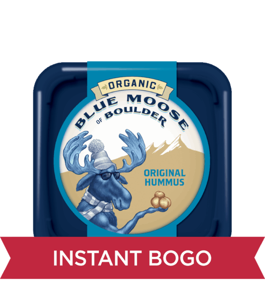 350 for blue moose organic hummus expiring on friday 02012019 offer available at h e b