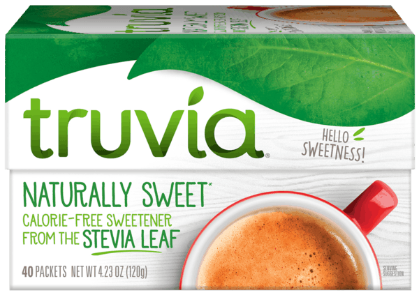$0.55 for Truvia® Sweetener Products. Offer available at Walmart.