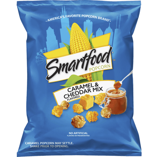$1.00 for Smartfood® Popcorn (expiring on Saturday, 09/08/2018). Offer available at multiple stores.