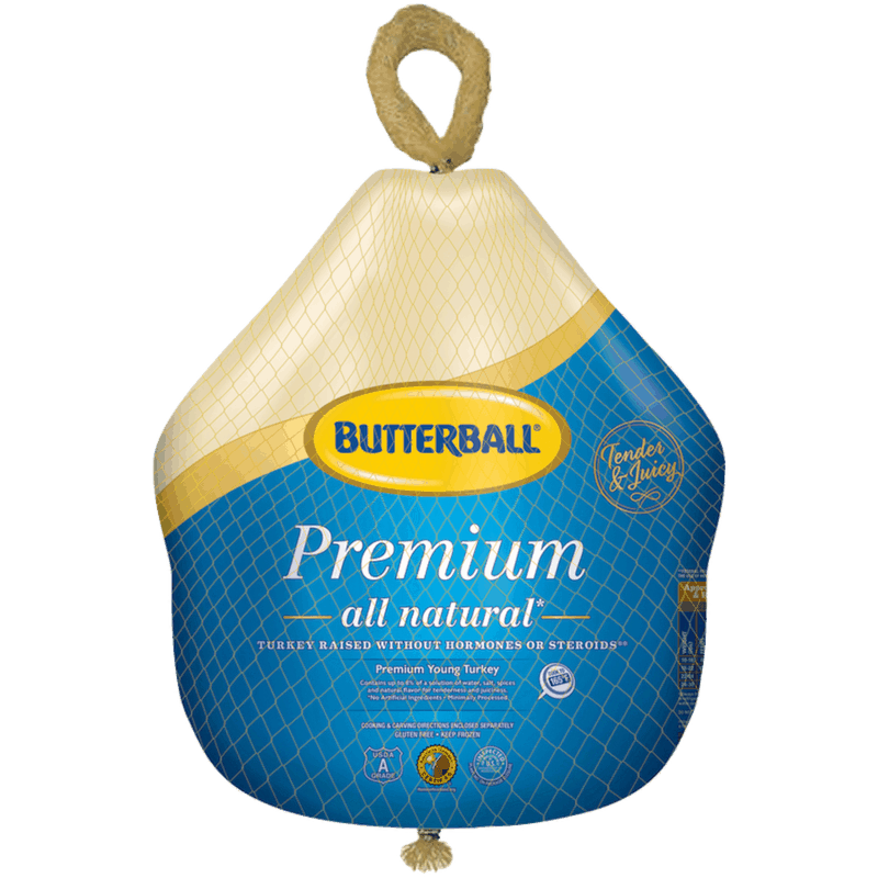 $2.00 for Butterball Fresh/Frozen Full Turkey (expiring on Monday, 05/31/2021). Offer available at multiple stores.