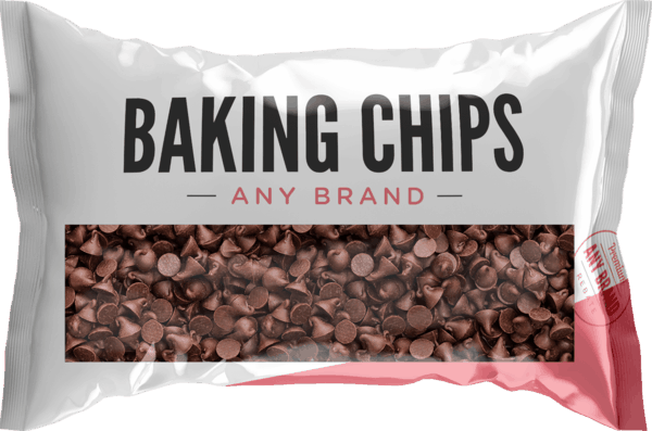 $0.25 for Baking Chips - Any Brand. Offer available at multiple stores.