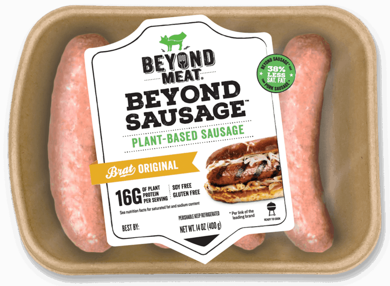 $0.50 for Beyond Sausage® (expiring on Monday, 09/02/2019). Offer available at Wegmans, Whole Foods Market®.