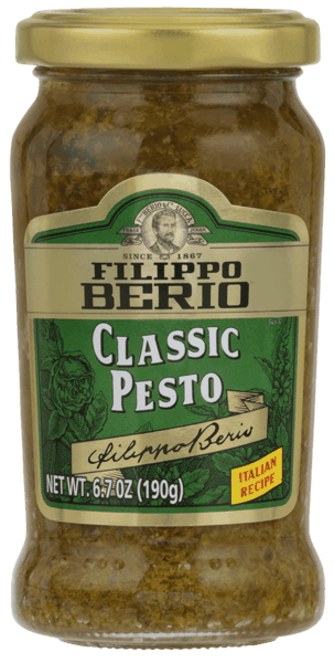 $1.50 for Filippo Berio® Pesto (expiring on Friday, 11/02/2018). Offer available at multiple stores.