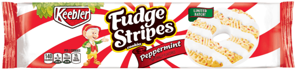 $1.00 for Keebler® Fudge Stripes™ Peppermint Cookies (expiring on Monday, 07/02/2018). Offer available at Walmart.