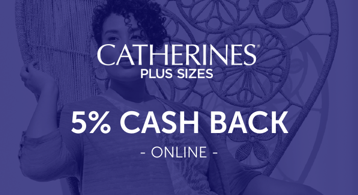 $0.00 for Catherines (expiring on Thursday, 12/31/2020). Offer available at Catherines.com.