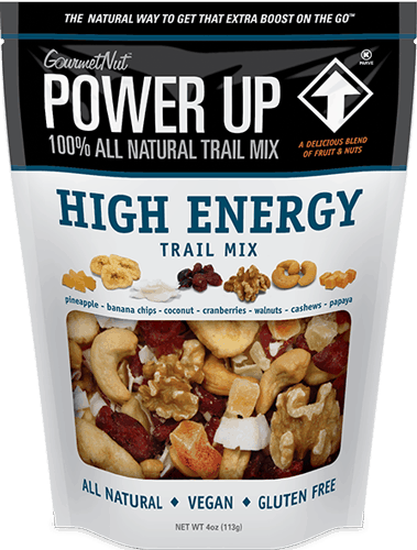$0.50 for Gourmet Nut™ Power Up Snacks (expiring on Sunday, 09/02/2018). Offer available at Walmart.