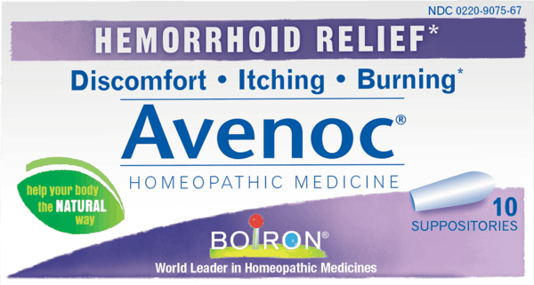 $1.00 for Boiron®Avenoc®Suppositories (expiring on Wednesday, 08/01/2018). Offer available at Whole Foods Market®, Sprouts Farmers Market.