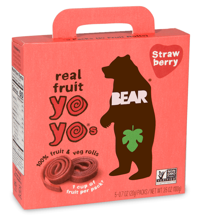 $1.00 for BEAR Fruit Snacks (expiring on Monday, 02/01/2021). Offer available at King Soopers, Fred Meyer, Hannaford, Raley's.