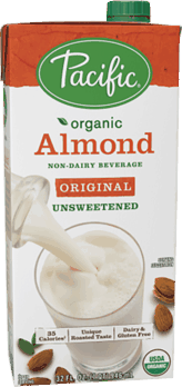 $1.00 for Pacific Foods™ Almond, Hazelnut, Rice or Soy Non-Dairy Beverage (expiring on Monday, 04/23/2018). Offer available at multiple stores.