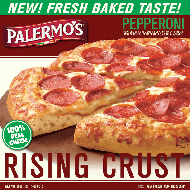 $1.50 for Palermo's Rising Crust Pizza (expiring on Friday, 04/30/2021). Offer available at Walmart, Walmart Grocery.