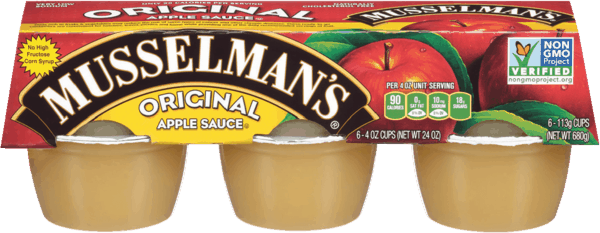 $0.50 for Musselman's Apple Sauce (expiring on Wednesday, 07/25/2018). Offer available at multiple stores.