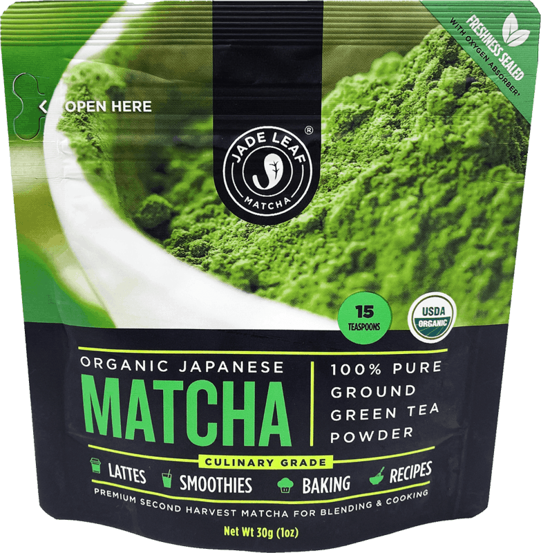 $1.00 for Jade Leaf Organic Culinary Matcha (expiring on Friday, 12/03/2021). Offer available at Target, Walmart, Whole Foods Market, Sprouts Farmers Market, Walmart Pickup & Delivery.