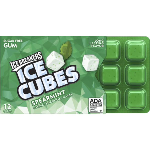 $0.25 for ICE BREAKERS Ice Cubes Gum Pocket Pack (expiring on Saturday, 06/02/2018). Offer available at Walmart.