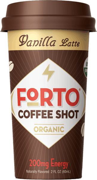 $0.50 for Forto® Coffee Shots (expiring on Tuesday, 04/02/2019). Offer available at multiple stores.