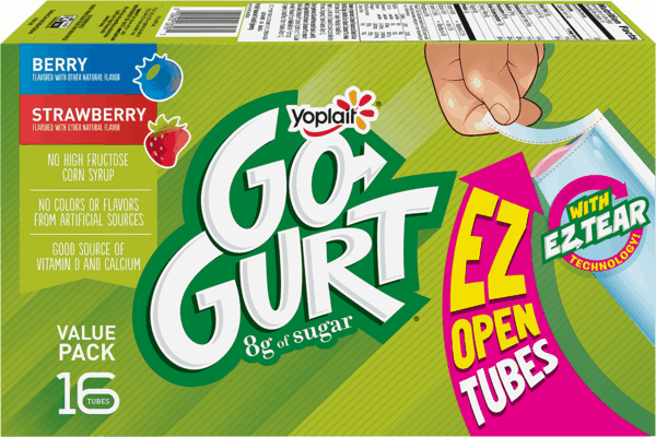 $1.00 for Yoplait® Go-GURT®. Offer available at Walmart.