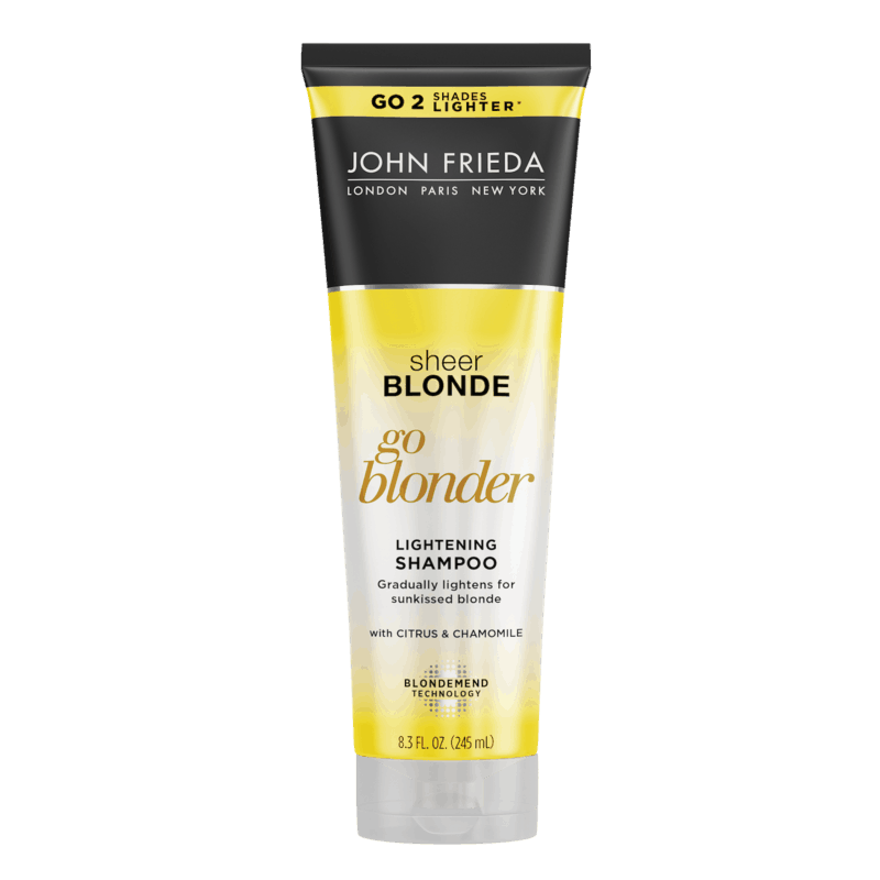 $1.00 for John Frieda Sheer Blonde Lightening Shampoo or Conditioner (expiring on Thursday, 07/02/2020). Offer available at multiple stores.