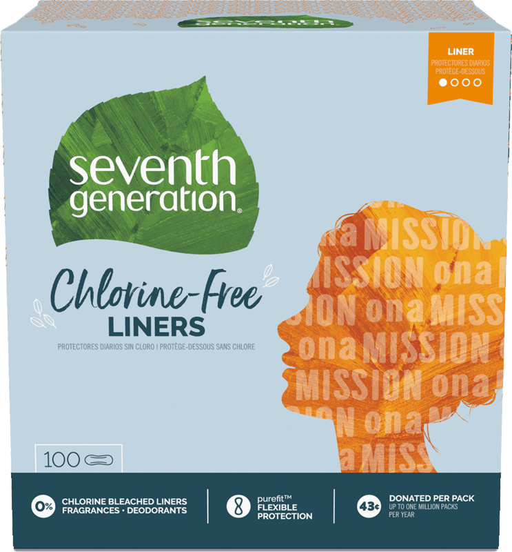 $1.00 for Seventh Generation™ Chlorine-Free Pantiliners (expiring on Monday, 03/02/2020). Offer available at Safeway, Walmart, Albertsons.
