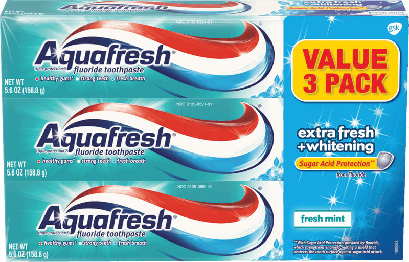 $1.25 for Aquafresh®. Offer available at Walmart.