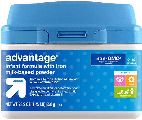 $4.00 for Up & Up™ Advantage® Formula (expiring on Wednesday, 05/02/2018). Offer available at Target.