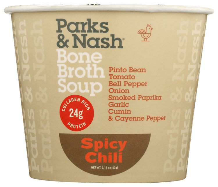 $0.75 for Parks & Nash Bone Broth Soup (expiring on Monday, 05/31/2021). Offer available at multiple stores.