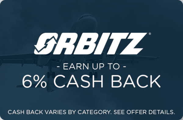 $0.00 for Orbitz (expiring on Thursday, 02/28/2019). Offer available at Orbitz.