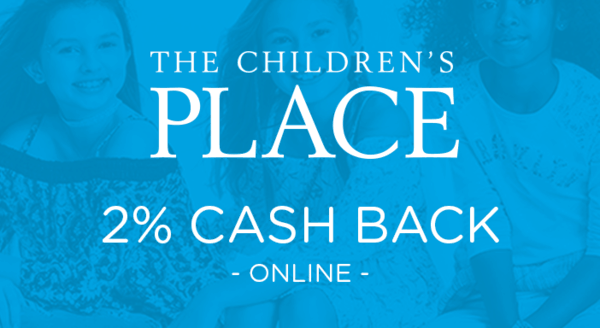 $0.00 for The Children's Place (expiring on Saturday, 02/29/2020). Offer available at ChildrensPlace.com.
