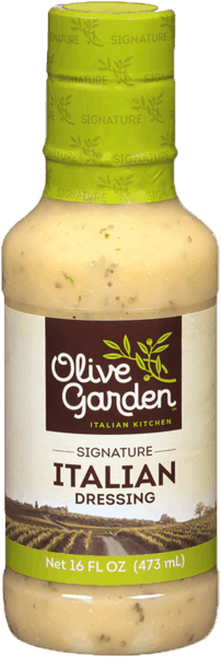$1.00 for Olive Garden® Salad Dressing. Offer available at multiple stores.