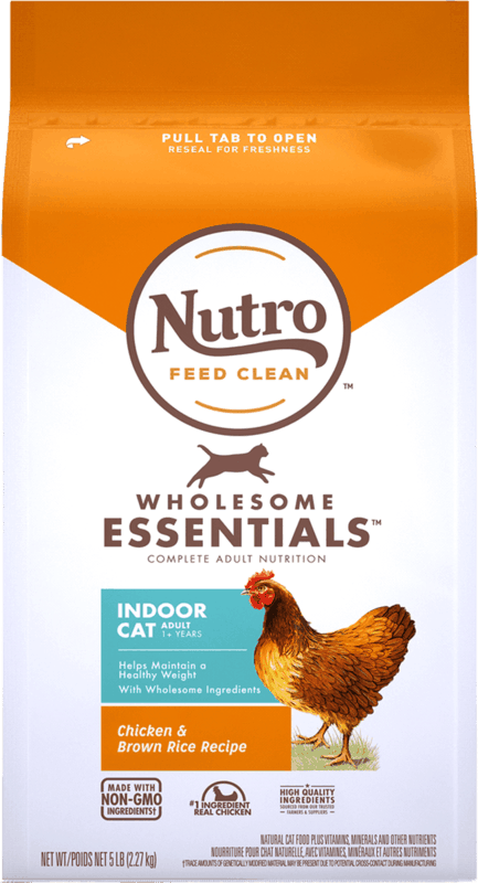 $2.00 for NUTRO™ WHOLESOME ESSENTIALS™ Dry Cat Food (expiring on Monday, 05/31/2021). Offer available at Kroger.