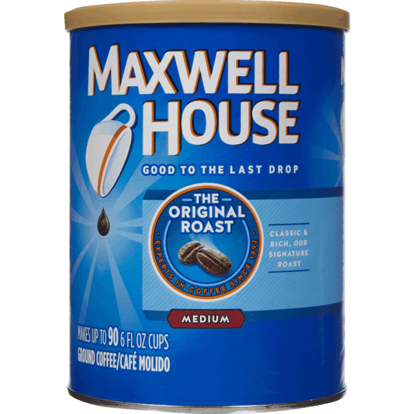 $1.00 for Maxwell House Ground Coffee (expiring on Wednesday, 01/02/2019). Offer available at Walmart.