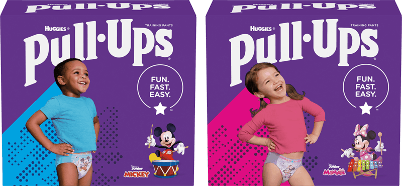 $2.00 for Huggies Pull-Ups Training Pants (expiring on Tuesday, 08/10/2021). Offer available at multiple stores.