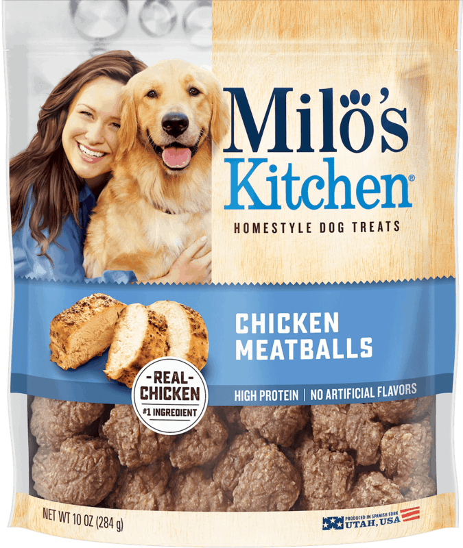 $2.00 for Milo's Kitchen® Dog Treats. Offer available at multiple stores.