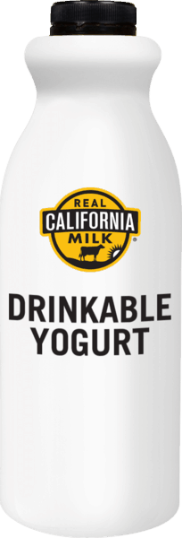 $1.00 for Real California Milk Drinkable Yogurt (expiring on Saturday, 09/01/2018). Offer available at multiple stores.