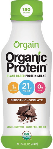 $1.00 for Orgain® 21g Vegan Protein Shake (expiring on Thursday, 12/28/2017). Offer available at Target.