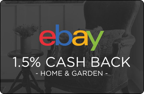 $0.00 for Ebay Home & Garden (expiring on Monday, 12/31/2018). Offer available at eBay.