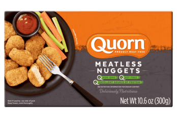 $2.00 for Quorn Meatless Nuggets (expiring on Saturday, 10/31/2020). Offer available at Publix.