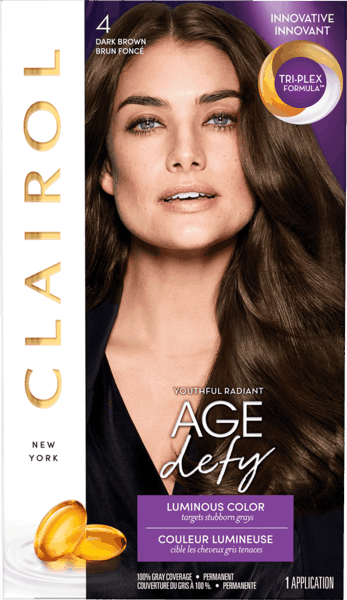 $2.50 for Clairol® Age Defy Hair Color (expiring on Monday, 05/21/2018). Offer available at multiple stores.
