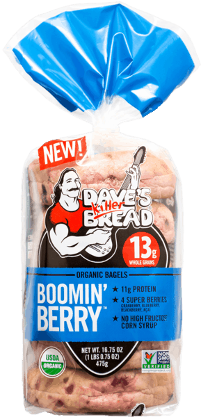 $1.00 for Dave's Killer Bread® Bagels (expiring on Sunday, 12/02/2018). Offer available at multiple stores.