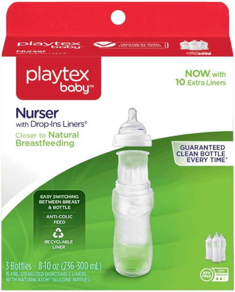 $3.00 for Playtex Baby™ Bottles. Offer available at Walmart.